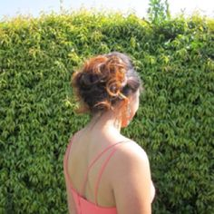 Katie's hair that I did for prom.