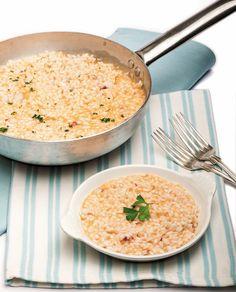Risotto con le triglie #ricetta #recipe #riso #risotto