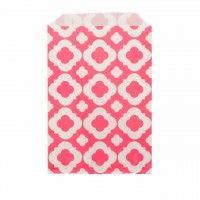 Saquinhos de Papel Rosa Pink Mod 12 uni