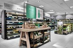 Wine shop interior, shop interior design, retail interior, store design, re Food Retail, Retail Shop, Retail Interior, Interior Exterior, Display Design, Store Design, Design Shop, Shop Interior Design, Retail Design