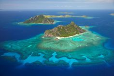 The Mamanuca Islands of Fiji are a volcanic archipelago lying to the west of Nadi and to the south of the Yasawa Islands