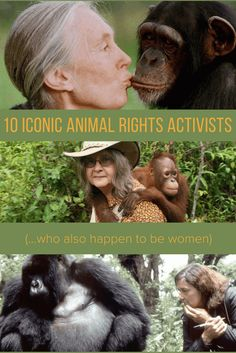 March is Women's History Month & March 8 is International Women's Day. To celebrate, we honor 10 female animal rights activists who have dedicated their lives to wildlife conservation!