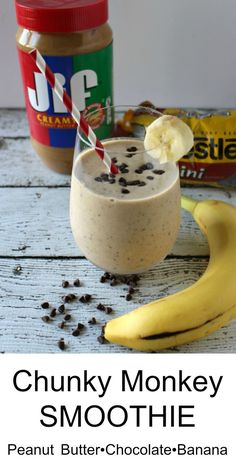 Chunky Monkey Smoothie - A delicious and healthy treat