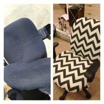 chevron chair!