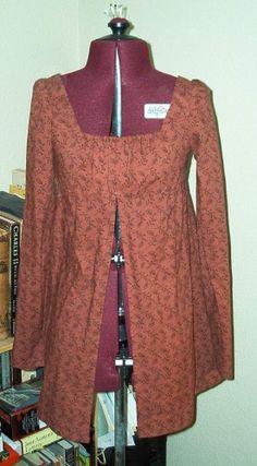 A Regency Half-Robe