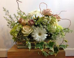 Assorted Roses, Gerbera, Ivy