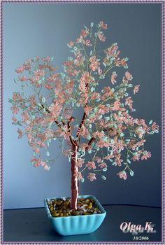 Деревья - beaded trees - Olga Kushelev - Picasa Web Albums