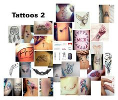 """""""tattoos 2"""" by queen26yassy ❤ liked on Polyvore featuring beauty"""