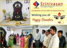 #Dusshera Celebrations at #SSS Software House, Technology Consulting, Victorious, Wish, Celebrations, Success, Business, Store, Business Illustration