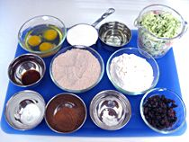 """Make """"cooking from scratch"""" easier by using """"Mise en Place"""" - a technique chefs use to measure all their ingredients in advance. It also prevents the necessity of running to the store for a missing ingredient in the middle of preparing a food!"""