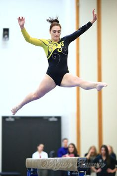 UWO's Women's Gymnastics Team. #uwo Photo by Ryan Clausen.