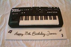 Synthesizer Cake ideas