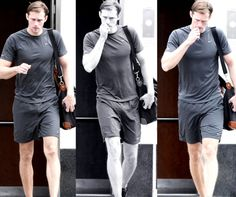 Alexander Skarsgård  Source: nateficked~I've pinned this before, but I just had to say that these shorts are The Greatest!