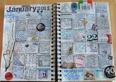 Calendar journaling.....5 minute activity at the beginning or end of class......I LOVE LOVE LOVE LOVE LOVE THIS!!!! #summarizing #comprehension