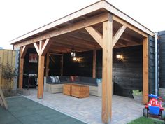 If you are looking for a nice and cozy place for summer afternoons, natural … Wooden Gazebo, Garden Room, Garden Buildings, Outdoor Kitchen Design, Diy Outdoor, Patio Design, House, Backyard Landscaping Designs