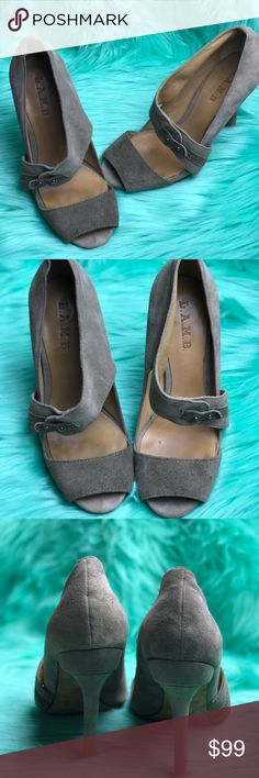 NWOB L.A.M.B. Shoes LAMB Suede Heels L.A.M.B. Shoes Heels