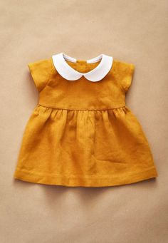 Baby Clothes Dresses Peter Pan 42 Ideas For 2019 Baby Outfits, Kids Outfits, Winter Outfits, Toddler Outfits, Peter Pan Collar Dress, Home Outfit, Toddler Dress, Toddler Girls, Girls Dresses