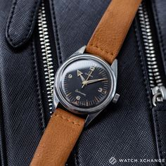 What A Watch // // A fantastic first-execution Omega Railmaster CK 2914-1 from 1958 with broad-arrow hands and military provenance // Available now at http://ift.tt/1qIwSwQ