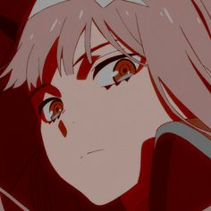 anime icon: zero two Cool Anime Pictures, Cute Anime Pics, Anime Love, Roblox Guy, Pelo Anime, Chlorophytum, Sailor Moon Wallpaper, Fanart, Zero Two