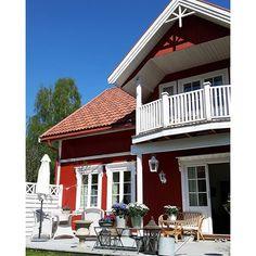 Shabby and Charme: Nordic Style con accenni di Shabby a casa di Silje...