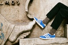 Go toe-to-toe in a pair of Adidas Gazelles.