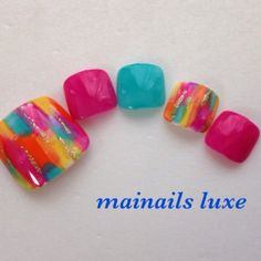 Mainails Luxe | bright summer colours