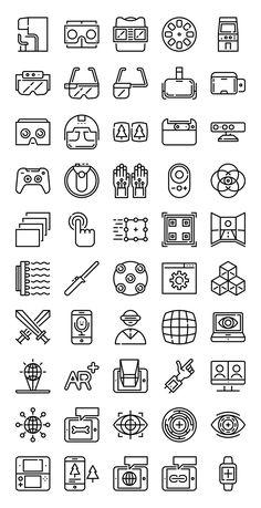 50 FREE Virtual Augmented Reality icons! Flaticon. #virtualrealitylogo