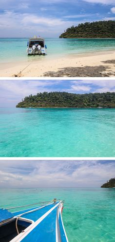 Koh Rok, Thailand - the crystal clear waters look unreal! #travel #thailand #kohrok #island