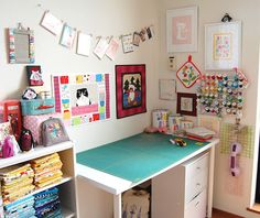Lawson and Lotti: Sundays Sewing Space - Ayumi from Pink Penguin
