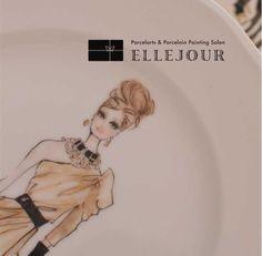 Porcelarts Elle Jour