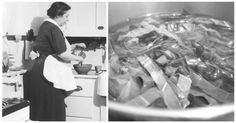 We've all found ourselves frustrated in our kitchens at some point or another when a pesky problem pops up to ruin our recipes. But you're in luck: these tips from… Cooking 101, Cooking Tools, Cooking Recipes, Cooking Ideas, 1920s Kitchen, Vintage Kitchen, Cooking Measurements, Food Challenge, Learning Tools