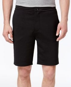 Armani Exchange Men's Jersey Shorts - Black
