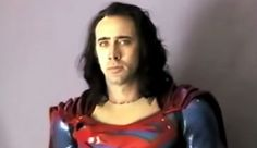 The year is 1997, Nicolas Cage is negotiations to play the Man Of Steel in Tim Burton's Superman Lives. Description from lockerdome.com. I searched for this on bing.com/images