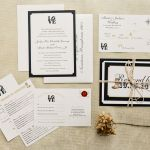 Country Glam Wedding Invites, The Country Barn, Lancaster Weddings {Queen Bee Paperie}