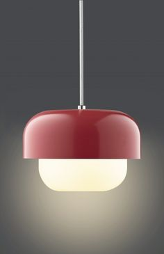 Add some Danish design to your home with this stylish Haipot Pendant Light by Dyberg Larsen. An eye-catching lamp designed by Frank Kerdil which oozes contemporary sophistication. Lamp Design, Lighting Design, Pendant Lamp, Pendant Lighting, Quirky Decor, Light Works, Light Letters, Red Candy, Light Fittings