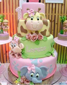 How cute is this baby shower cake? Giraffe Elephant – Kuchendeko – … How cute is this baby shower cake? Giraffe Elephant – Kuchendeko – How cute is this baby shower cake? Giraffe Elephant – Kuchendeko – … How cute is this baby shower cake? Fun Cupcakes, Cupcake Party, Cupcake Cakes, Cupcake Ideas, Baby Birthday Cakes, Baby Girl Cakes, Cake Baby, Birthday Ideas, Beautiful Cakes