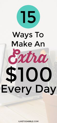 Make extra money. Side hustle. Work from home. Make money blogging. Money making tips. Make money now to save for later. Make an extra $100 every day. #makemoneyonline #makemoney #sidehustle #financialfreedom #frugal #thriftyliving #sidegig