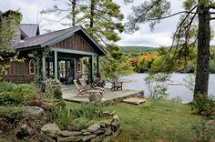 A Cabin Designed for Prime Views - Cabin Life Magazine