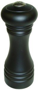 Gessner Products Mr. Dudley 6-Inch Hardwood Salt Shaker, Matte Black by Gessner Products. $21.57. Black matte finish.. Superior hardwood 6-inch salt shaker.. Sleek, stylish design complements every decor.. Simple and easy to use.. Mr. dudley brand trusted for over 50 years.. The Mr. Dudley brand of casual and elegant peppermills, salt grinders and salt shakers has been trusted by restauranteurs and consumers alike for over 50 years.  This beautiful six-inch hardwood sal...