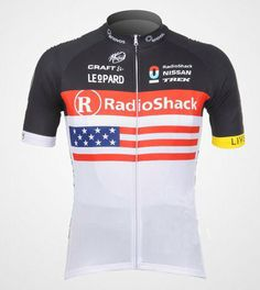 Repin this if you love the outdoors! Cycling-sports Speed Fitness 2012 TREK Radio American Flag Men's Short Sleeve Cycling Jersey Perspiration Breathable Mountain Clothing Summer Riding Clothes