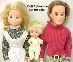1974 Sunshine Family Dolls. Stephie, Sweets and Steve