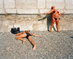 Martin Parr UKRAINE. Yalta. Black Sea. Yalta Beach. 1995.