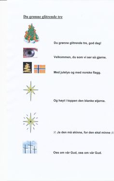 SANGER MED TEGNINGER - www.hildes-hjoerne.com Norway Language, Sanger, Singing, Education, Montessori, Barn, Music, Ideas, Pictures