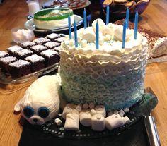 Birthday cake - Baby Seal