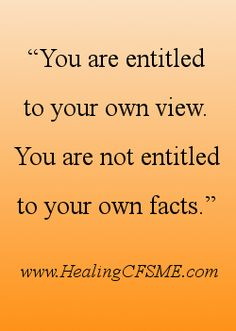 Do you have people in your life who don't seem to believe that you are ill. Click through for advice on how to cope. http://www.healingcfsme.com/dont-believe-me.html #healing #cfsme