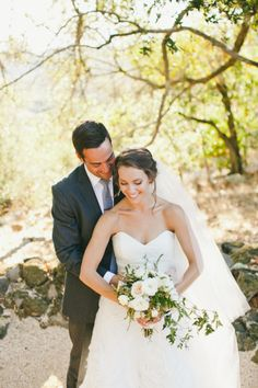 Such a beautiful moment: http://www.stylemepretty.com/little-black-book-blog/2015/02/20/ruby-pink-chalk-hill-estate-winery-wedding/ | Photography: Onelove - http://www.onelove-photo.com/