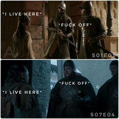 Poor Arya, Game of Thrones.