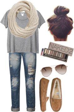 Cute Winter Outfits Teenage Girls-18 Hot Winter Fashion Ideas no scarf!