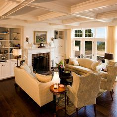 Traditional Living Room Traditional Brick Ranch Design