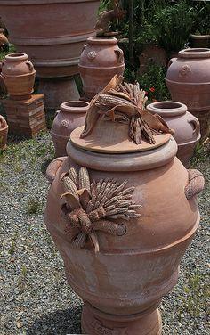 Impruneta, Terrecotte di Massimo Carbone #TuscanyAgriturismoGiratola